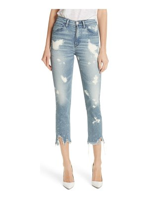 3x1 NYC w4 colette bleached crop skinny jeans