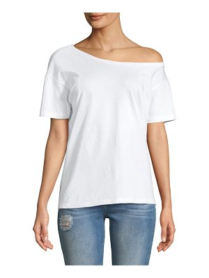 3x1 Off-the-Shoulder Cotton Tee