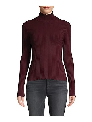 3x1 ribbed turtleneck