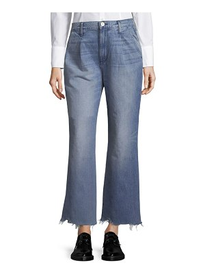 3x1 Shelter Pleated Cropped Jeans