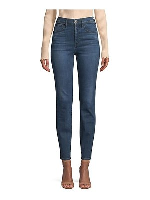 3x1 stevie high-rise straight ankle jeans
