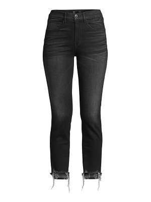 3x1 w3 authentic mid-rise slim-fit cropped jeans