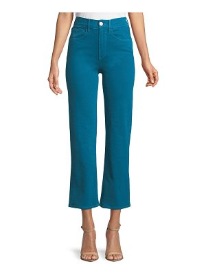 3x1 W4 Shelter Cropped Wide-Leg Jeans