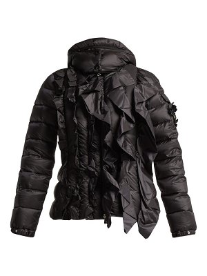 4 Moncler Simone Rocha darcy ruffled quilted jacket