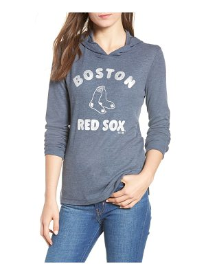 '47 campbell boston red sox rib knit hooded top