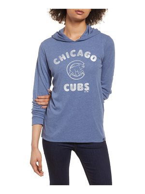 '47 campbell chicago cubs rib knit hoodie