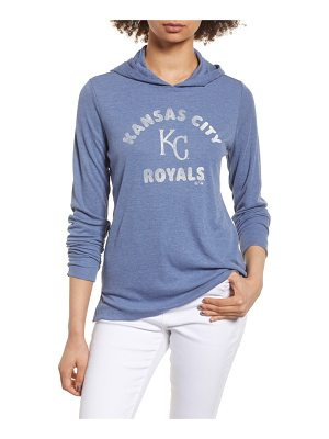 '47 campbell kansas city royals rib knit hooded top
