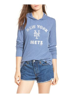 '47 campbell new york mets rib knit hoodie