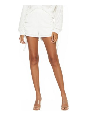 4SI3NNA emely side ruched knit shorts