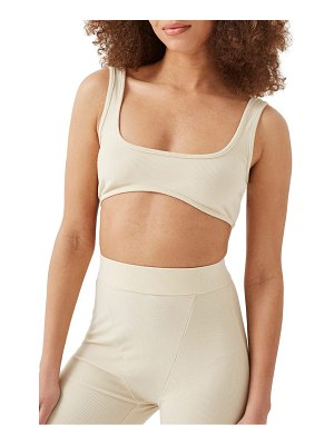 4th & Reckless arella ribbed jersey bralette