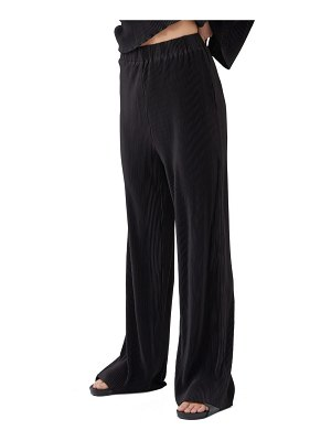 4th & Reckless julien micro pleat trousers