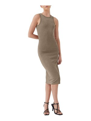 4th & Reckless lucie open back sleeveless dress