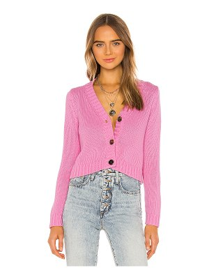 525 America cropped v neck cardigan