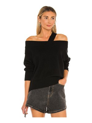 525 off shoulder strap pullover