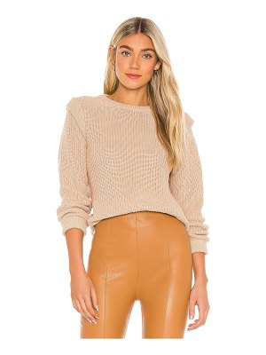 525 pullover with shoulder detail sweater