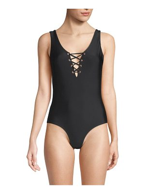 6 SHORE ROAD ocean one-piece swimsuit