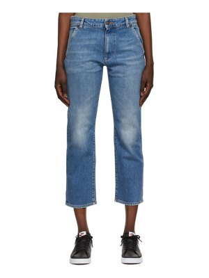 6397 blue faded carpenter jeans