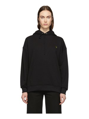 6397 Exclusive Black Leaf Hoodie