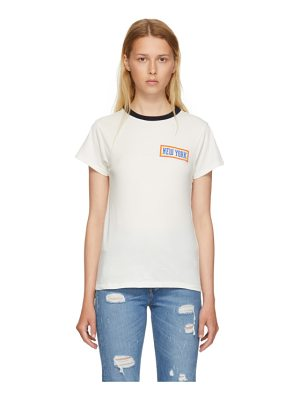 6397 'New York' Ringer T-Shirt