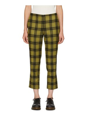 6397 Plaid Pull-On Trousers