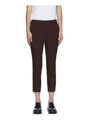6397 purple pull on trousers