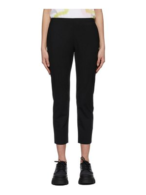 6397 wool pull-on trousers
