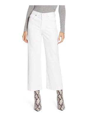 7 For All Mankind 7 for all mankind alexa high waist crop wide leg corduroy pants