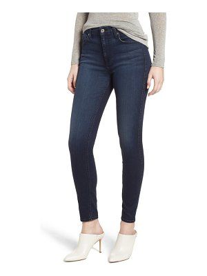7 For All Mankind 7 for all mankind b(air) high waist ankle skinny jeans