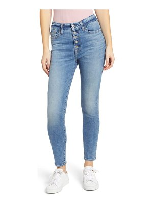 7 For All Mankind 7 for all mankind button fly high waist ankle skinny jeans