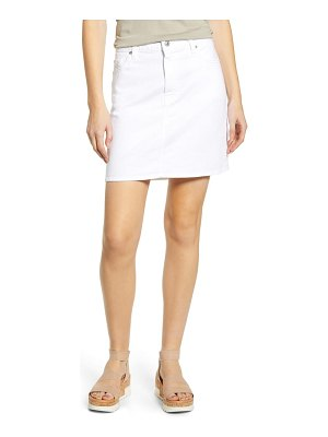 7 For All Mankind 7 for all mankind denim miniskirt