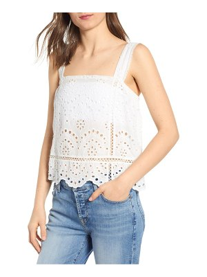 7 For All Mankind 7 for all mankind eyelet tank