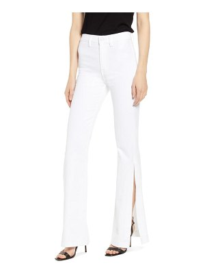 7 For All Mankind 7 for all mankind high waist slit flare jeans