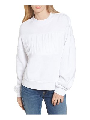 7 For All Mankind 7 for all mankind mankind embossed sweatshirt