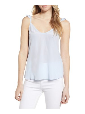 7 For All Mankind 7 for all mankind mini ruffle strap camisole
