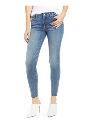 7 For All Mankind 7 for all mankind raw hem ankle skinny jeans