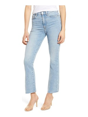 7 For All Mankind 7 for all mankind slim kick high waist jeans