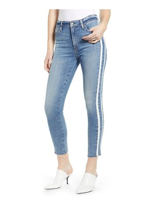 7 For All Mankind 7 for all mankind side stripe ankle skinny jeans