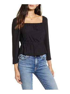 7 For All Mankind 7 for all mankind square neck top
