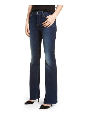 7 For All Mankind 7 for all mankind b(air) tailorless iconic bootcut jeans