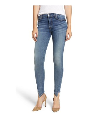 7 For All Mankind 7 for all mankind the ankle splice hem skinny jeans