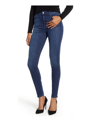 7 For All Mankind 7 for all mankind the high waist animal print side stripe skinny jeans