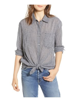 7 For All Mankind 7 for all mankind tie front shirt