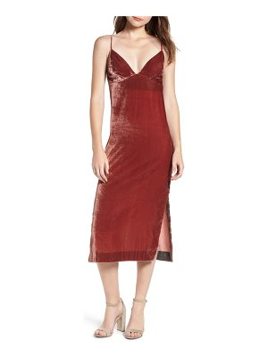 7 For All Mankind 7 for all mankind velvet slipdress
