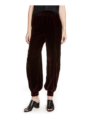 7 For All Mankind 7 for all mankind velvet track pants
