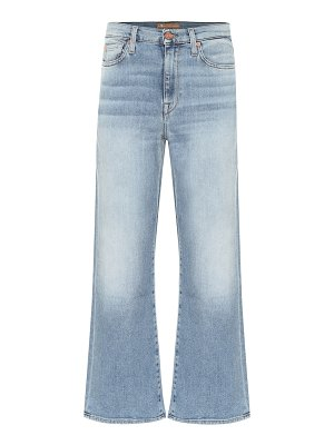 7 For All Mankind alexa cropped high-rise flared jeans