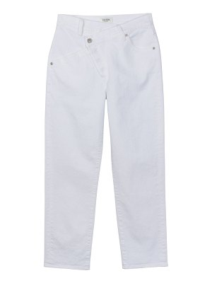 7 For All Mankind asymmetric straight-leg jeans