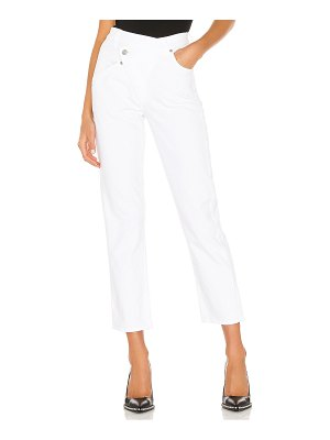 7 For All Mankind asymmetrical button front straight. - size 24 (also