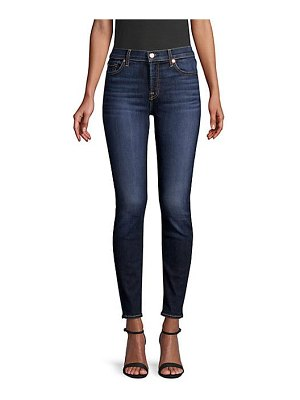 7 For All Mankind b(air) mid-rise ankle skinny jeans