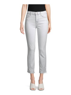 7 For All Mankind Edie Distressed Ankle Jeans
