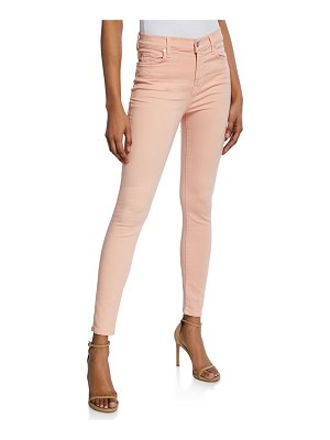 7 For All Mankind High-Rise Ankle Skinny Jeans